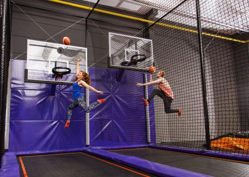 Action und Adrenalin auf dem Trampolin! Foto: JUMP House / Tom Menz